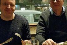 Instagram Igår var jag, Ola och Gunilla på Ölstugan, åt husmanskost för att ladda inför musikhögskolesök i Göteborg!