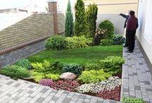 zahrada pod terasou