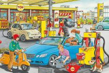 bensinstasjon