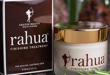 Rahua / Kosmetyki w 100% organicznie, wolne od parabenów, sulfatów, silikonów i innych, syntetycznych składników.