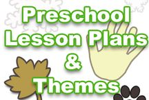 preschool lessons plans / by Tami Justice