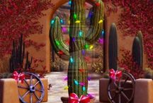 A Southwestern Christmas / Charming Inspiration of Southwestern Holiday Decor