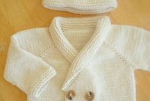 baby knits and crochet