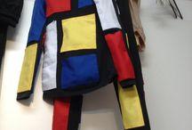 Los ismos como segunda piel / Diseño de vestuario inspirado en grandes artistas. Proyecto realizado por  David Romero, grupo de Volumen  de 1º Bach. Artes , Coordina: Rosa de Trías .  IES  ESramón Carande (Sevilla)