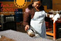 Our People / All of our candles are hand made in the beautiful Kingdom of Swaziland!