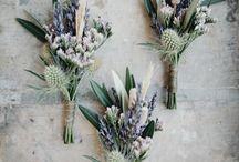 Boutonnières fleuries