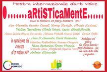 ARTISTICAMENTE mostra collettiva d'arti visive presso la BADALUCCO ART GALLERY.  evento organizzato dal cerchio cromatico e dal Salotto dell'arte di Genova. Vernissage 4 marzo 2017