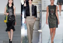 Leather Over 40 / How do you wear leather over 40 without looking like you are desperate or trying too hard? Take a look at these great examples of how to look chic in leather.