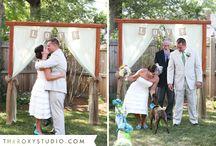 back yard weddings / by Kristy Smallwood