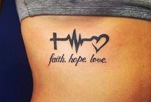 Сердцебиение татуировки