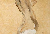 Painting. Egon Schiele