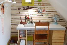 My home office ideas / by Yumi Ayers