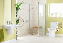 Style Bathrooms for less abled / A range of bathrooms to help less able people or seniors enjoy with safety their bathing experiance