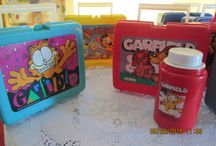 Vintage Lunch Boxes / Several #vintage (used by kids) #lunch-boxes  http://stores.ebay.com/rebeccastreasureswv   or https://www.facebook.com/RebeccasTeasures?ref=aymt_homepage_panel