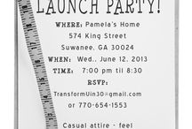 Isagenix launch party invitations