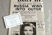 Vintage Newspapers / Vintage, mid century UK Newspapers for sale