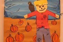 Fall-Scarecrows / by Mary-beth Nickerson
