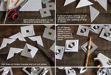 skládání z papíru