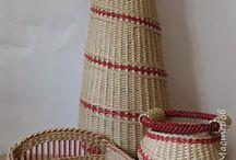 плетение из газет / корзины