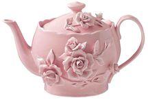 Teapot & mug