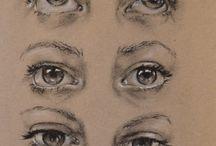 Глаза рисунки
