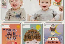 Milestone babycards