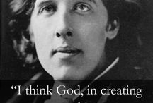Oscar Wilde Quotes / One of the greatest writers of all time. I greatly admire his witty style.
