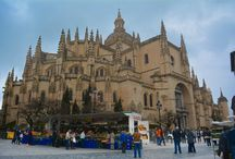 Segovia, Spain. / Segovia is a small town in Spain with beautiful architecture and rich in history.