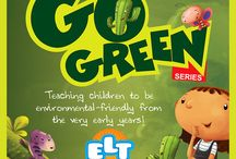 """Go Green"" children's book Series / Educative stories and Activities to make children aware of the environmental problems, understand them and get interested in the solutions."