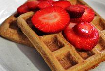 Food: Paleo Waffles / Grain-free, paleo waffles breakfast