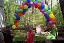 Emma's 3rd Bday ... Rainbow Party