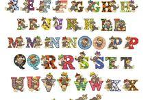alfabetos / by Marisa Iborra