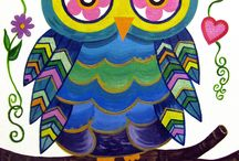 Owls / by Elizabeth Trimble
