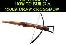 crossbow / by Fred Pokrzywa