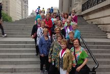 Sew Many Options Tours / Pictures from some of our sewing tours  / by Marsha McClintock