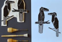 Linocuts ideas
