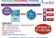 SAP HANA Online training from Industry Experts-Acutesoft