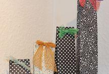 Gift Bag Punch Board/ Stanz- und Falzbrett für Geschenkschachteln
