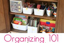 Organizing  / by Jennifer Fougère