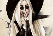 goth illustration