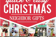 Christmas thank you gifts / Quick and easy gifts