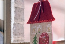 Cross Stitch Hauses