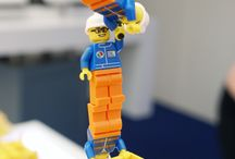 Lego build - Sept 2013 / A set of images from a Twitter story we ran during Offshore Europe 2013 for Aker Solutions