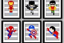 Festa superhero