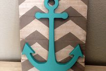 Anchor Bathroom ⚓️ / Ideas for the boys anchor themed bathroom  / by hlacharite⚓️