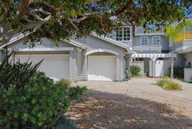 2929 Sandy Pointe #18 / Cape Cod-style townhome in the gated community of Playa Del Mar in Del Mar, California.