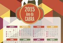 calendar 2015 goat