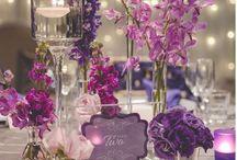 Kwiaty weselny stół