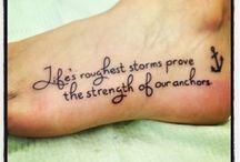 Tattoos ❤️ / by Blair Schoch