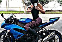 sexi girls and bike